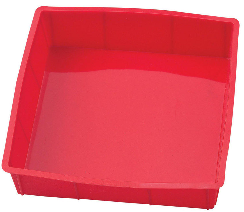 "Cake Pan Silicone 9"" x 9"" Square"