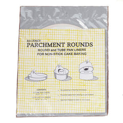 Parchment Round &Tube Pan Liner
