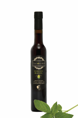 Laconiko Basil Infused Olive Oil 375 ml