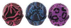 Funky Animal Prints Bake Cups