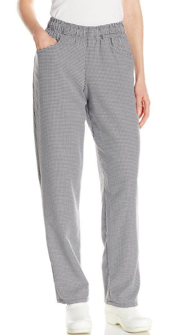 Women's Chef Pant Houndstooth 2XL