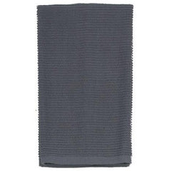 Ribbed Towel: Charcoal