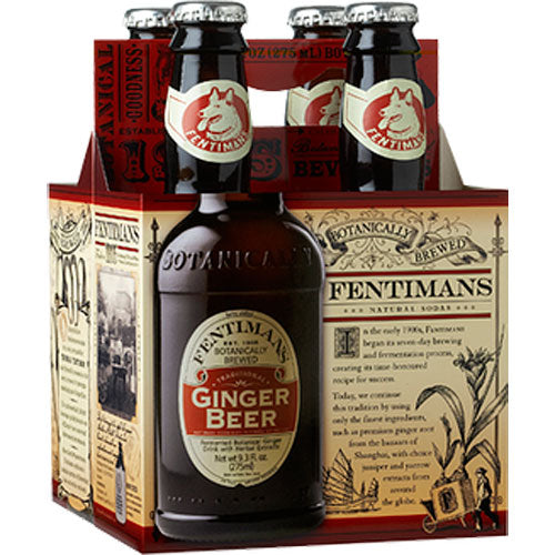 Fentimans Ginger Beer 4 Pack