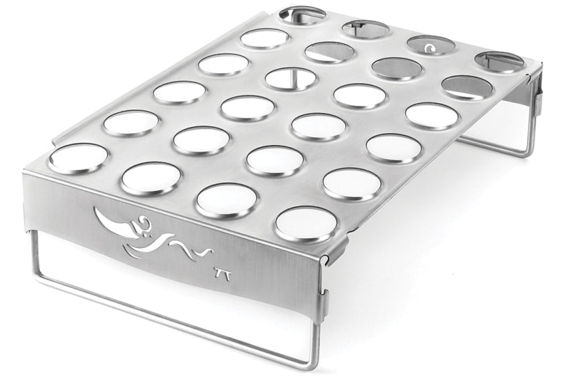 Outset Jalapeno/Chicken Roaster Stainless Steel
