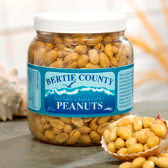 Bertie Peanuts Sea Salt & Black Pepper (10 ounce)