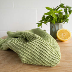 Ripple Kitchen Towel Leaf