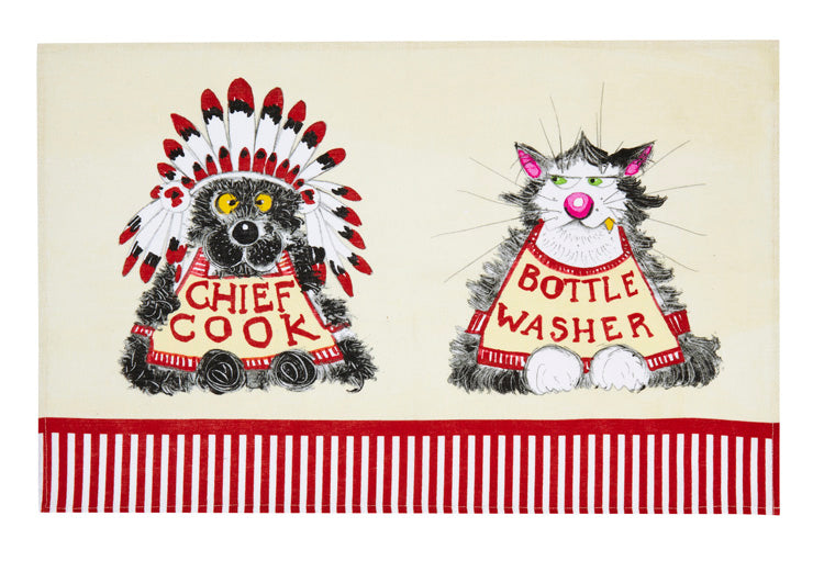 Towel: Chief Cook Bottle Washer