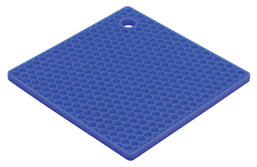 Honey Comb Trivet Blueberry