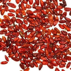 Pequin Chiles, Dried