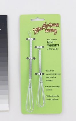 "Mini Whisk Set (4.75 and 7"")"