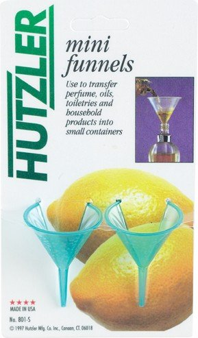 Hutzler Mini Funnel Set of 2