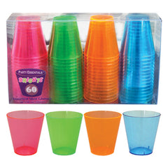 Shot Glasses Colored 2 Oz.