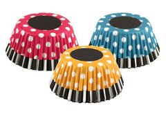Retro Polka Dots Bake Cups