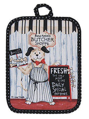 Pot Holder Butcher Shoppe