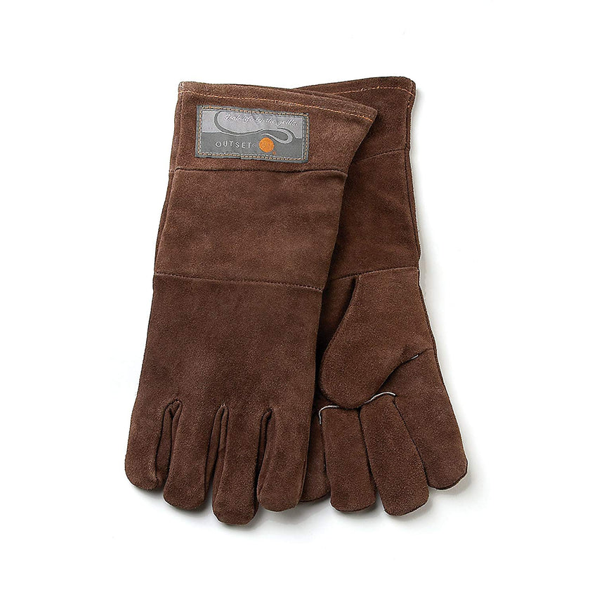 Outset Grill Gloves Leather - Brown (Set of 2)