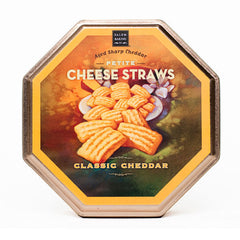 Cheese Straws Tin Classic Cheddar