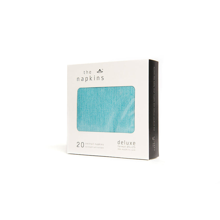 Cocktail Napkins Turquoise