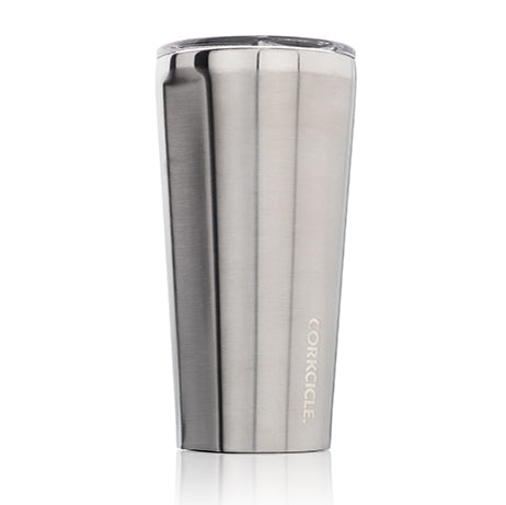 Corkcicle Tumbler Brushed Steel 16