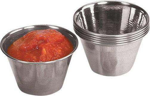 Sauce Cups Individual - Stainless Steel