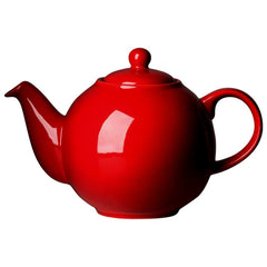 Teapot Globe Red 8 Cup