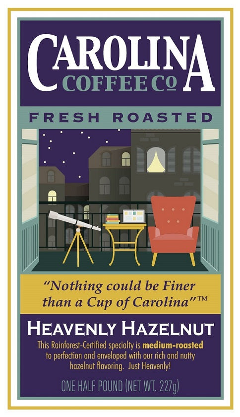 Heavenly Hazelnut Decaf Coffee - 16 oz