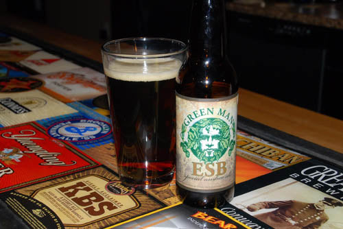 Green Man ESB 12 oz Bottle