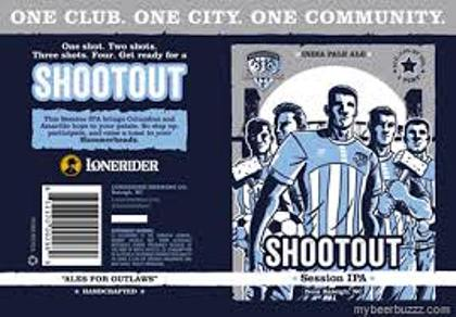 Lonerider Shootout Session IPA (single)