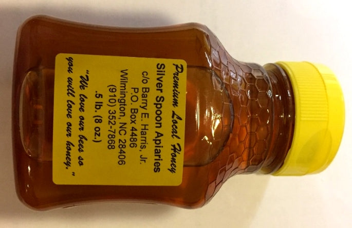 NC Honey 8 oz Plastic Jar