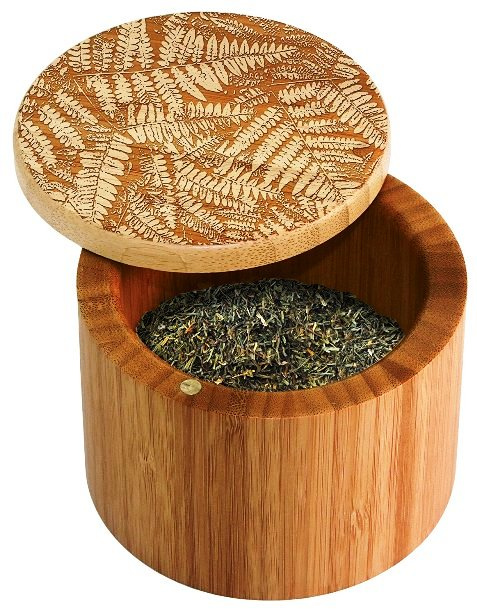 Totally Bamboo Round Salt Box Fern