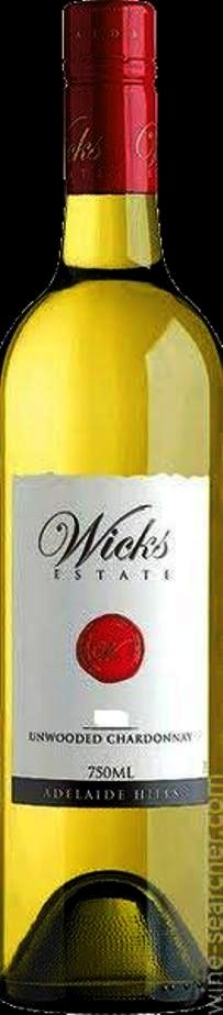 Wicks Unwooded Chardonnay