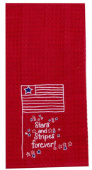 Waffle Towel Stars And Stripes