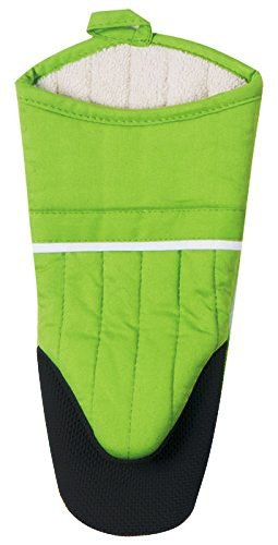 Oven Mitt Cloth Neoprene Lemon Grass