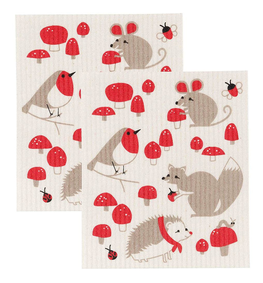 Swedish Dishcloth Toadstool