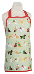 Kids Apron Holiday Pups