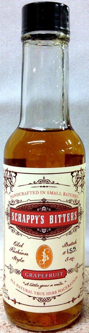 Scrappy's Bitters Grapefruit