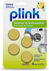Plink Washer & Dishwasher Freshener and Cleaner
