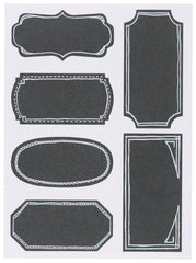 Chalkboard Label Set/18 Large