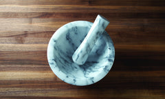 "Mortar & Pestle 4"" Marble"