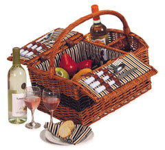 Oak & Olive Largo 2 Person Picnic Basket