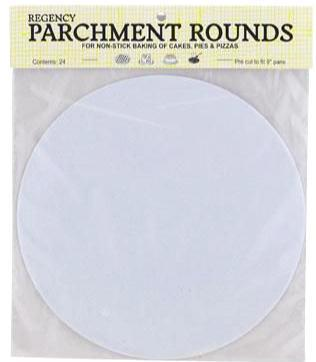 "Parchment Rounds 9"" 24 pack"