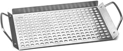 "Outset BBQ Grill Grid 11"" x 7"" - Stainless Steel"
