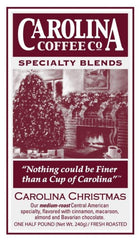 Carolina Christmas Decaf Coffee - 16 oz