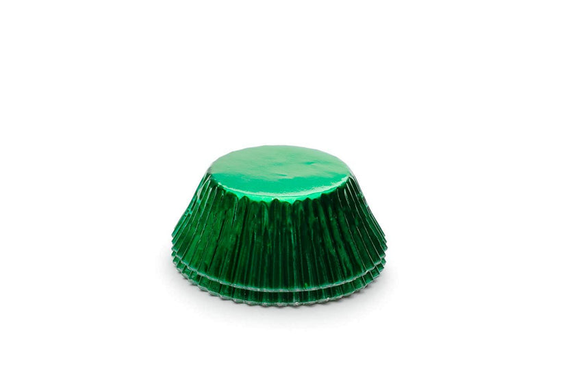Green Foil Baking Cup Std