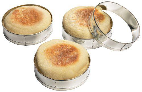 English Muffin Rings - Set of 4