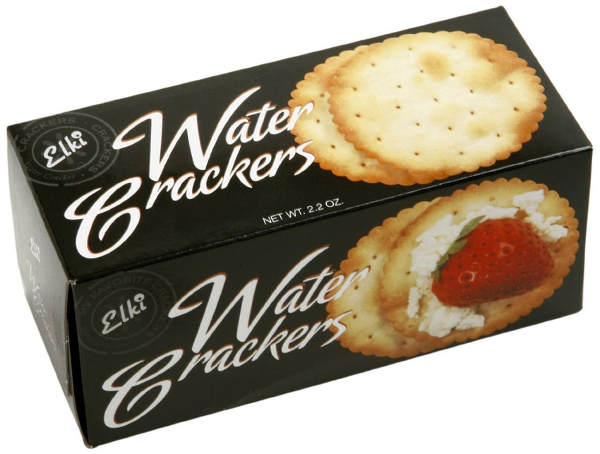 Elki Corporation Water Crackers 2.2oz