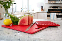 "Architec Original Gripper Cutting Board 11"" x 14"" - Red"