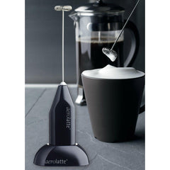 Aerolatte Frother w/Counter Stand - Black