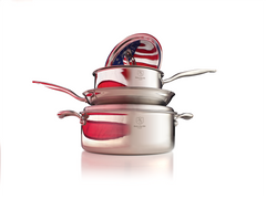 Heritage Steel Cookware Set (10 piece)