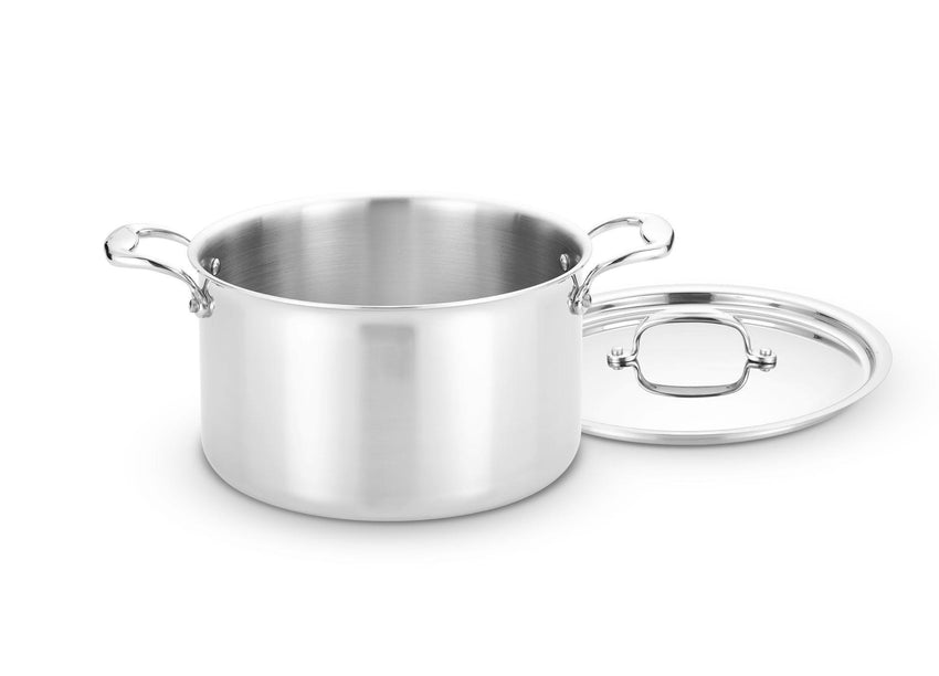 Heritage Steel 8 Qt Stock Pot with Lid