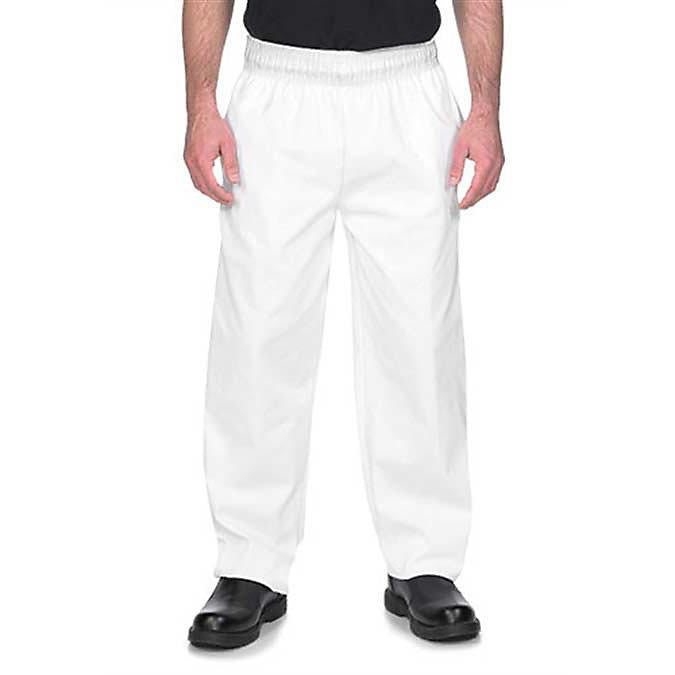Chef Pant Basic Baggy White 2XLarge